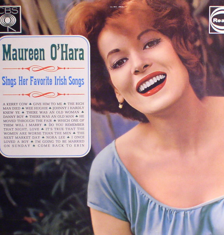 Maureen O'Hara... Sings Her Favorite Irish Songs