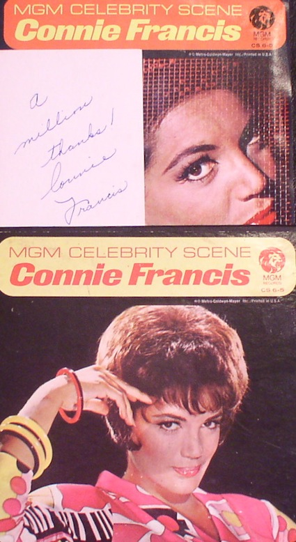 Connie Francis...MGM Celebrity Series