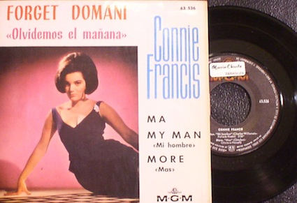 Connie Francis..Forget Domani EP