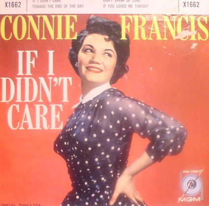 Connie Francis...If I Didn't Care + 3 EP