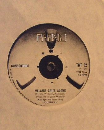 Consortium...Melanie cries alone / Copper Coloured Years