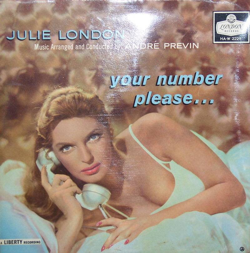 Julie London...Your Number Please....