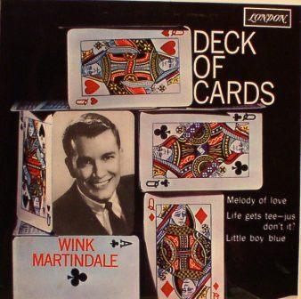 Wink Martindale...Deck of Cards [EP]