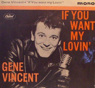 Gene Vincent... If You Want My Lovin' [EP]