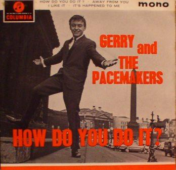 Gerry & the Pacemakers...How Do You Do It? [UK EP]
