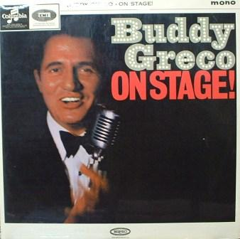 Buddy Greco... On Stage!