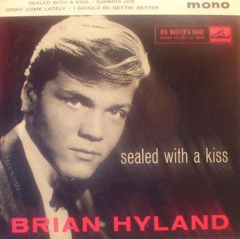 Brian Hyland... Sealed With a Kiss [EP]