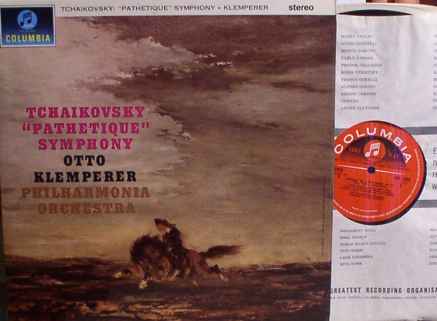 Tchaikovsky Symph.6 'Pathetique'...Otto Klemperer