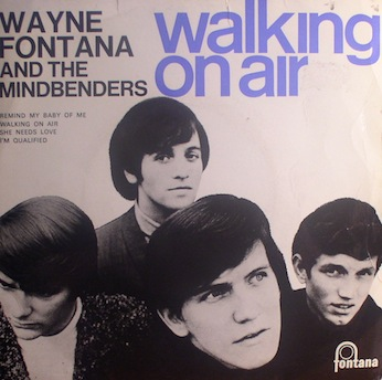 Wayne Fontana.. Walking On Air [UK EP]